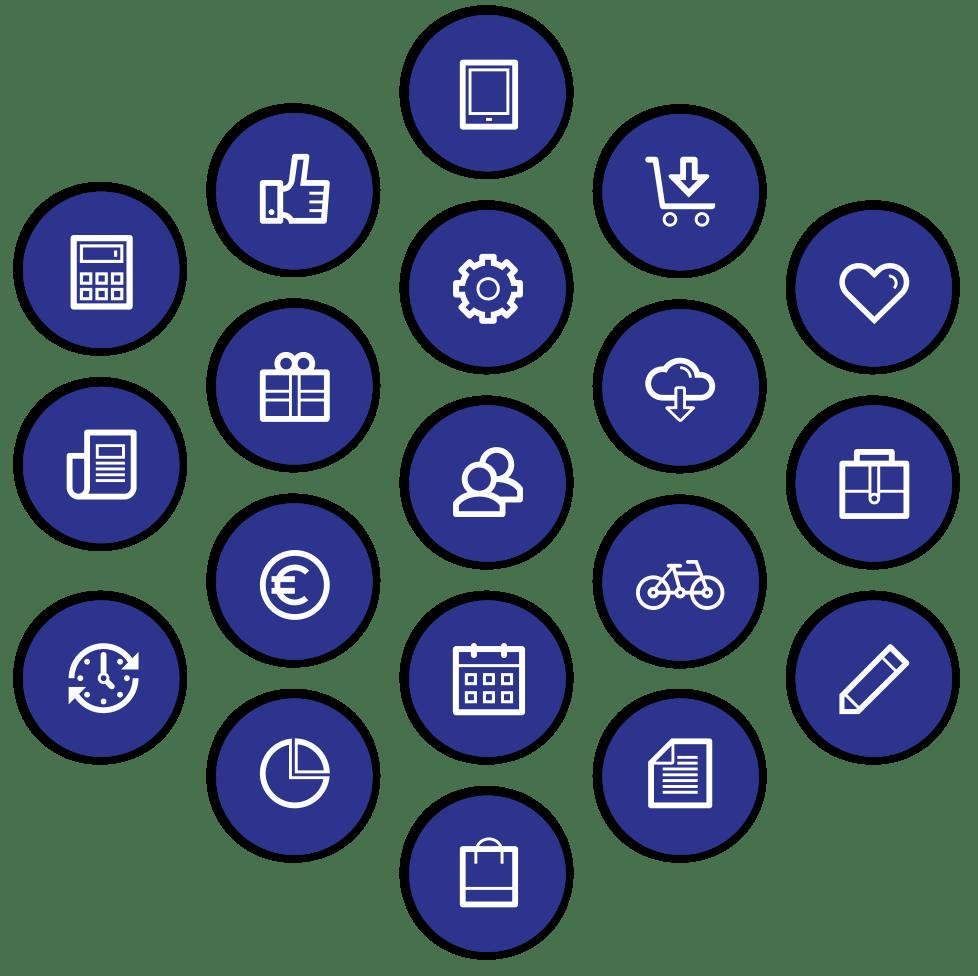 Tiller AppMarket icons