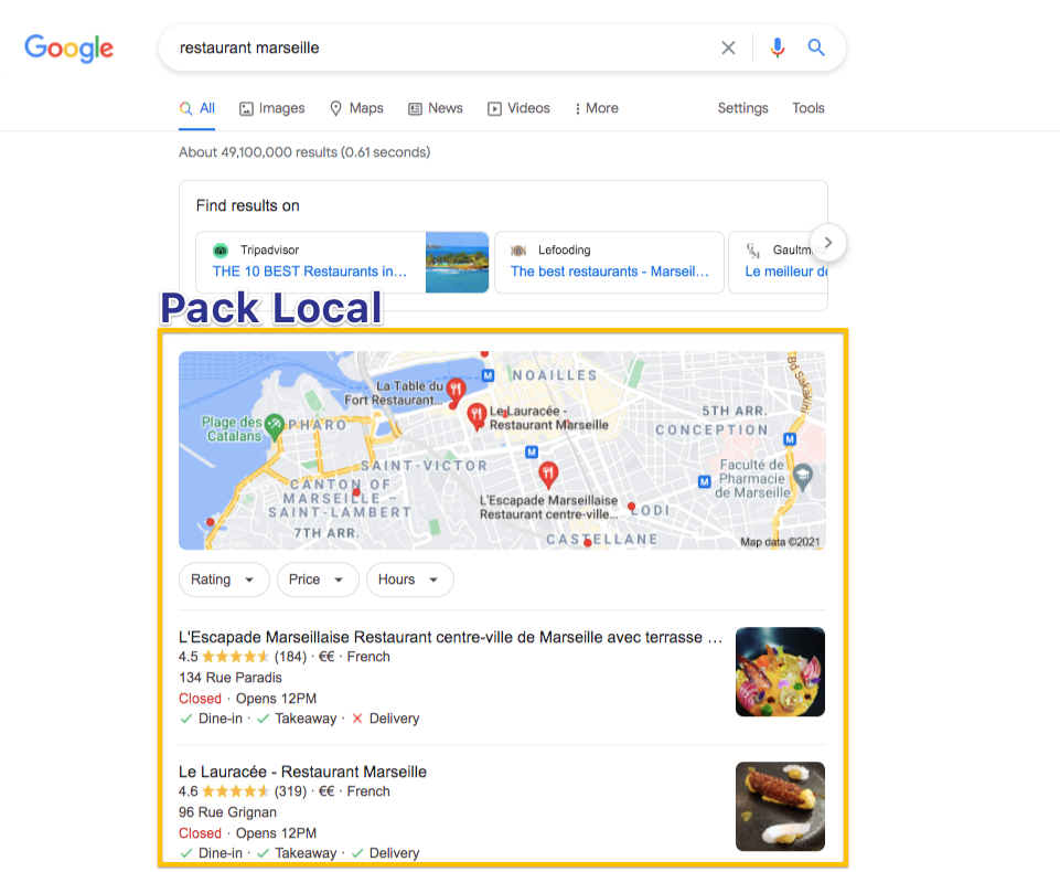 pack local