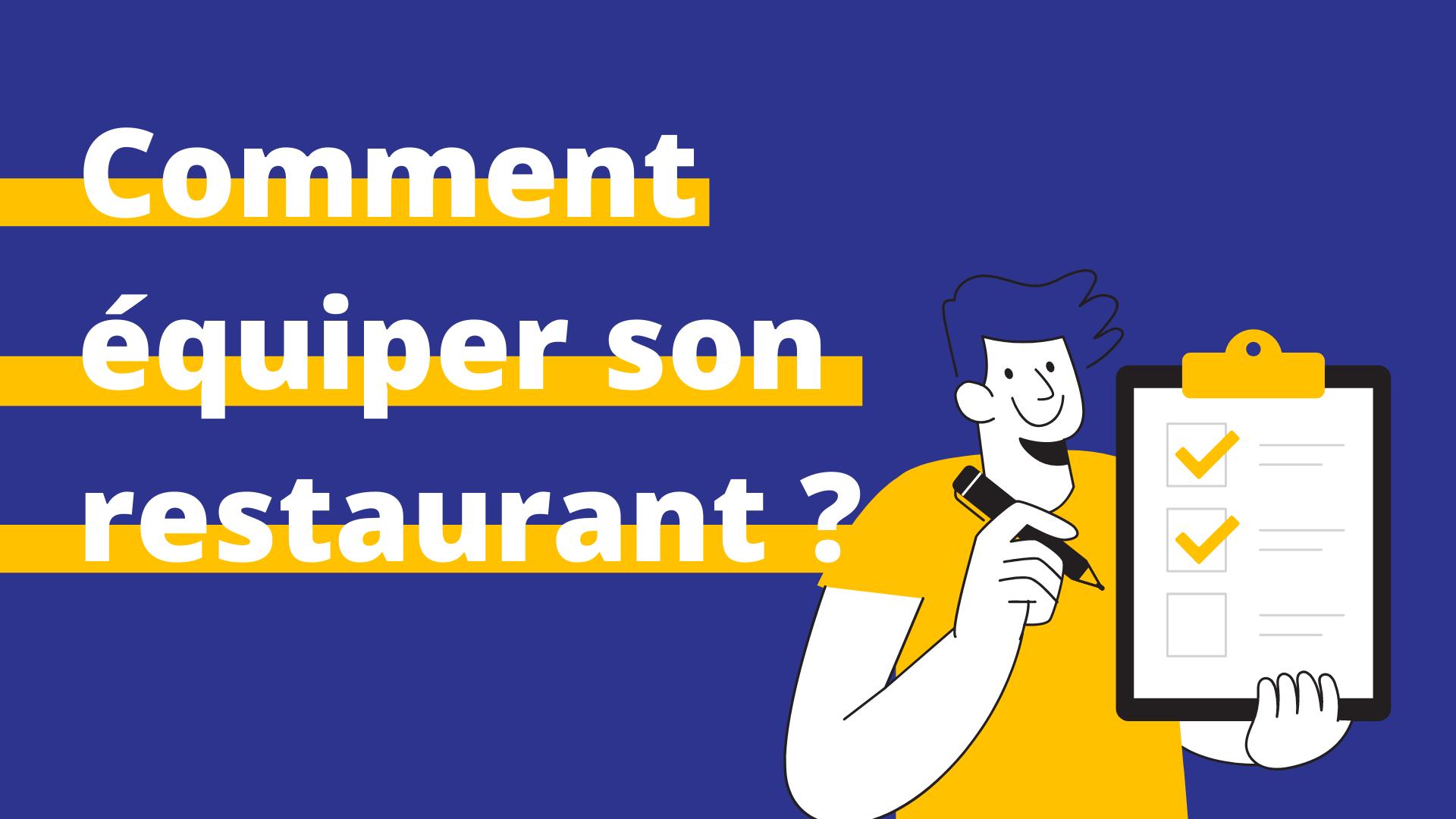 liste matériel restaurant