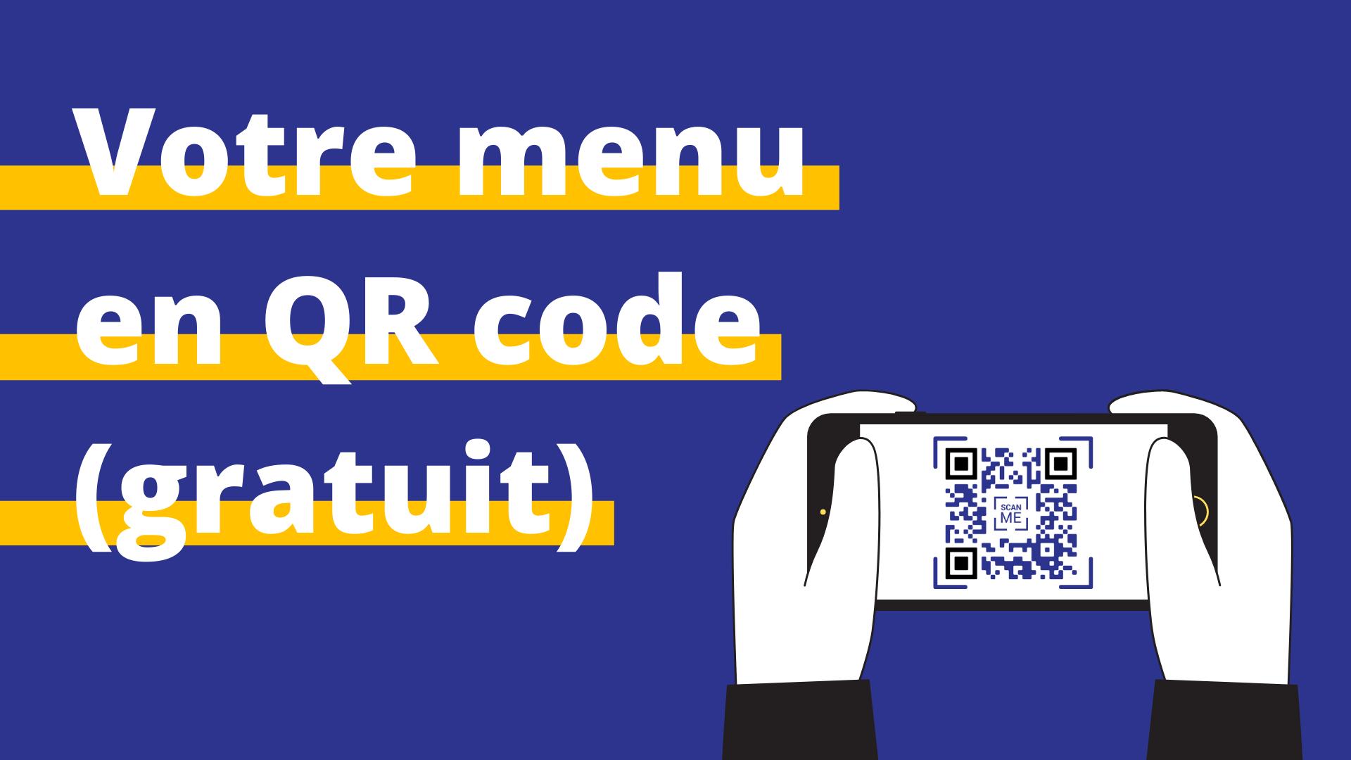 qr code menu restaurant