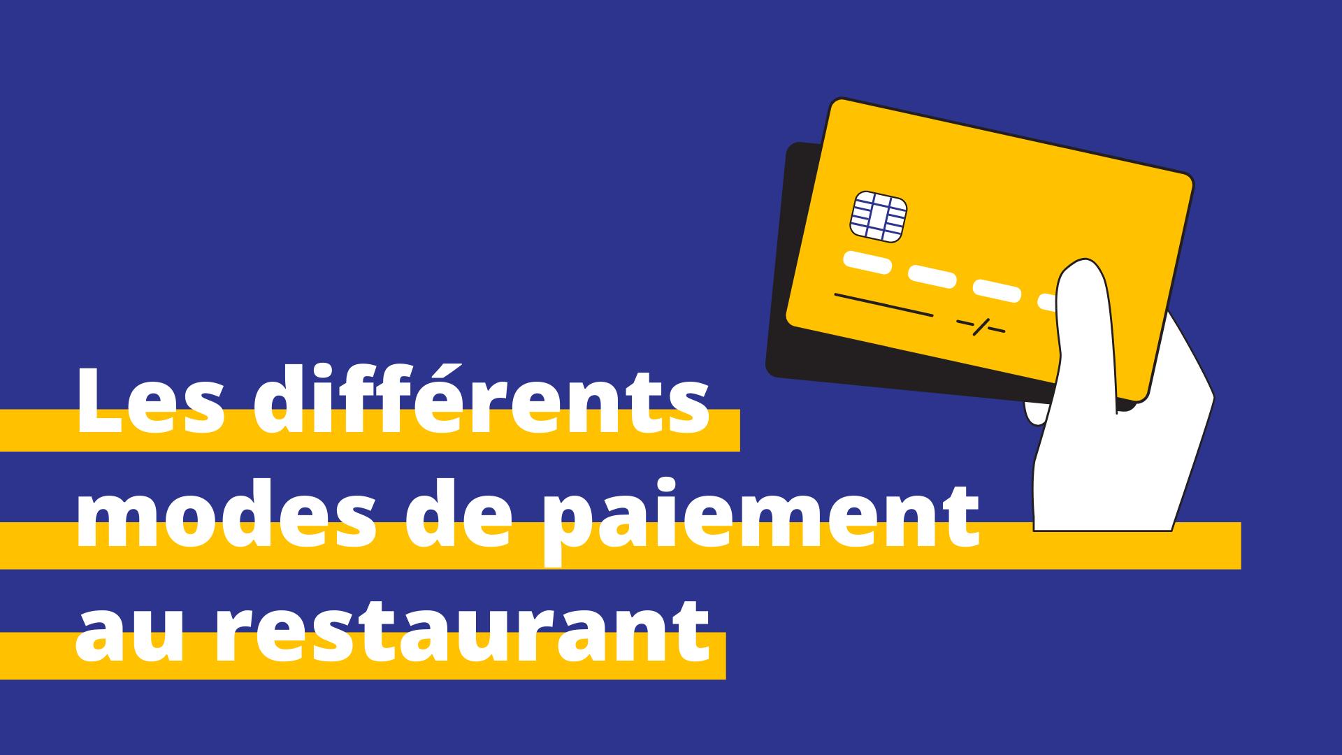mode de paiement restaurant