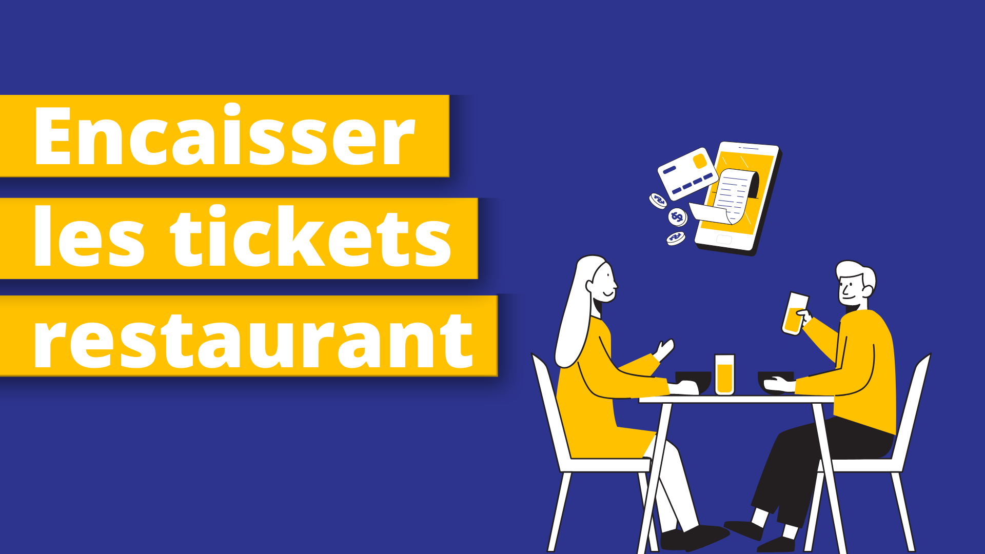 Encaisser tickets restaurant