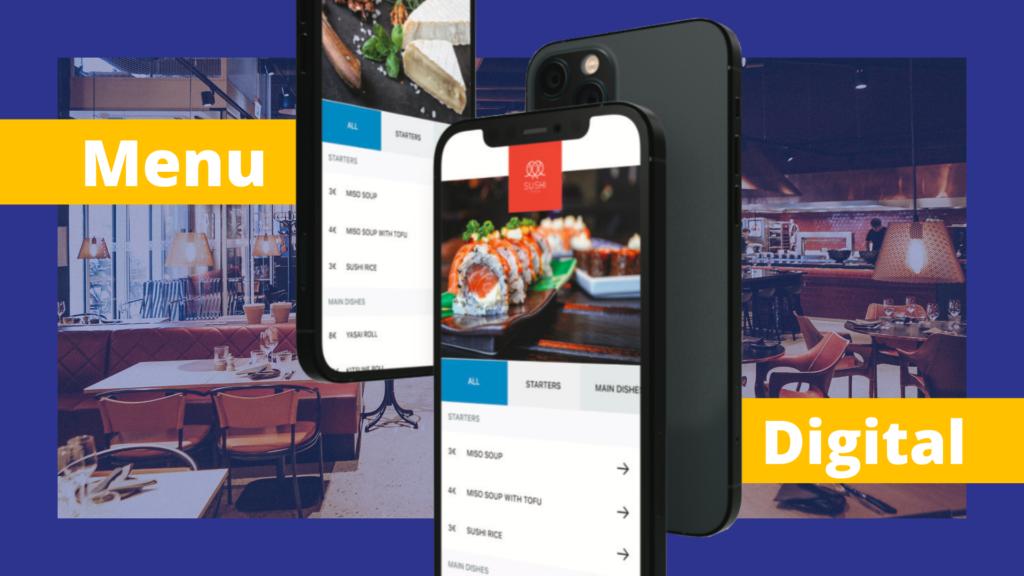 menu digital restaurant